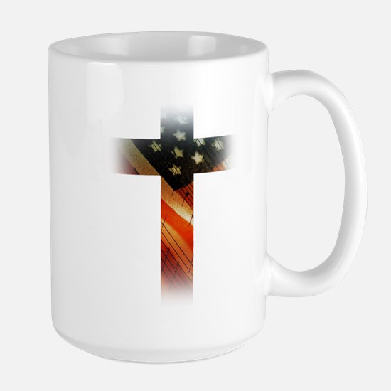 Flag in Cross Mugs