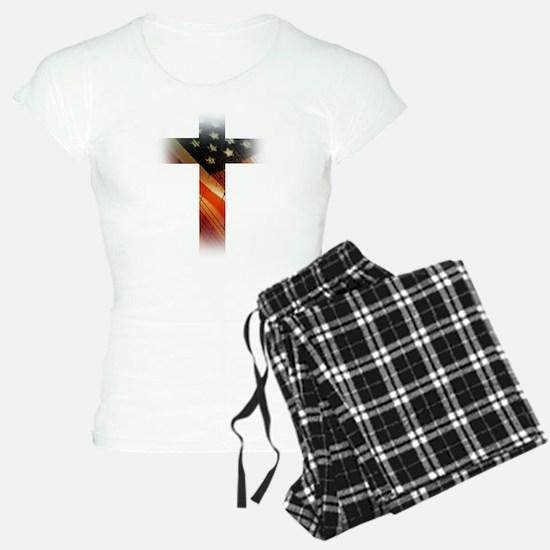 Flag in Cross Pajamas
