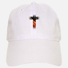 Flag in Cross Baseball Cap