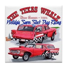 The Texas Whale - 2014 Tile Coaster