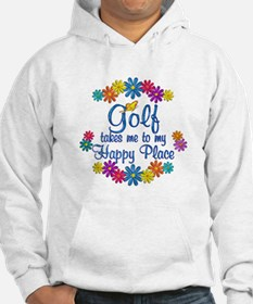Golf Happy Place Hoodie