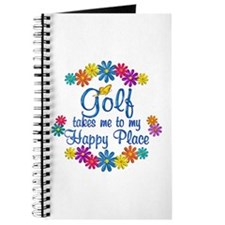 Golf Happy Place Journal