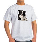 Border collie t-shirt Mens Light T-shirts