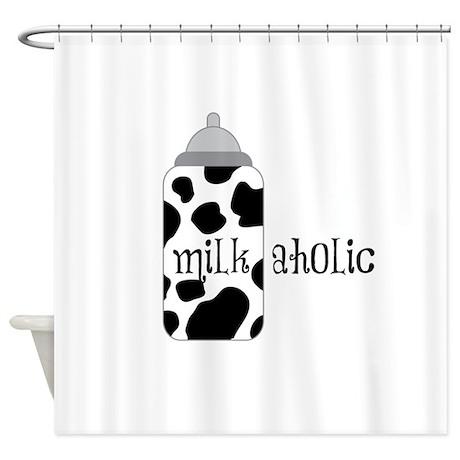 Milkaholic Shower Curtain