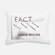 Family,So no to,Saying Rectangular Canvas Pillow