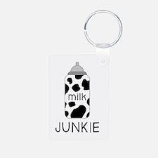 Milk Junkie Keychains