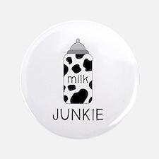 """Milk Junkie 3.5"""" Button"""
