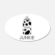 Milk Junkie Wall Decal