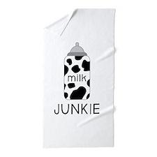 Milk Junkie Beach Towel