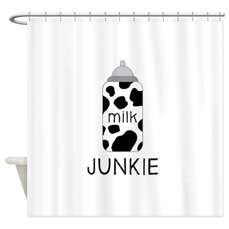 Milk Junkie Shower Curtain