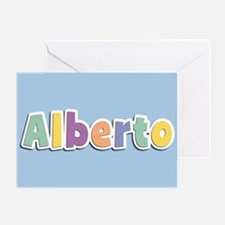 Alberto Spring14 Greeting Card