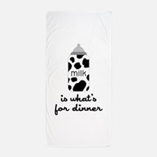 What's for Dinner Beach Towel