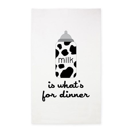 What's for Dinner 3'x5' Area Rug