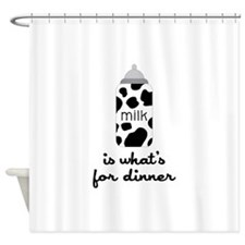 What's for Dinner Shower Curtain