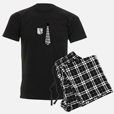 Shirt and Tie Pajamas