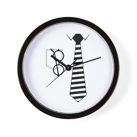 Shirt and Tie Wall Clock