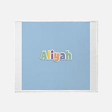 Aliyah Spring14 Throw Blanket