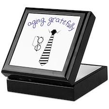 Aging Gratefully Keepsake Box