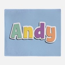 Andy Spring14 Throw Blanket