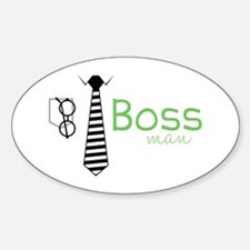 Boss Man Decal
