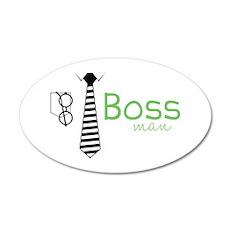 Boss Man Wall Decal