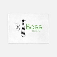Boss Man 5'x7'Area Rug