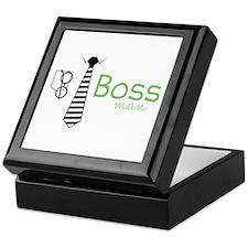 Boss Man Keepsake Box