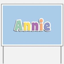 Annie Spring14 Yard Sign