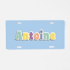 Antoine Spring14 Aluminum License Plate