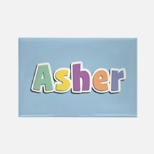 Asher Spring14 Rectangle Magnet