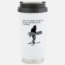 Cool Snowboard Travel Mug