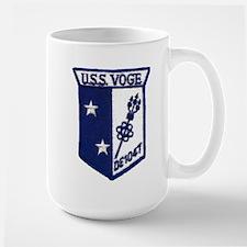 uss voge de patch transparent Mugs