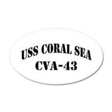 USS CORAL SEA Wall Decal