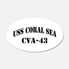 USS CORAL SEA Wall Decal