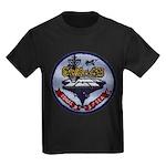 USS CORAL SEA Kids Dark T-Shirt