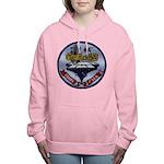 USS CORAL SEA Women's Hooded Sweatshirt