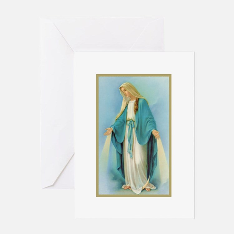 Cute Our lady Greeting Card