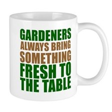 Gardeners Fresh To Table Mugs