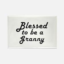 Blessed Granny Rectangle Magnet