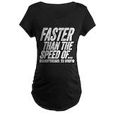 Fitness Maternity T-shirts (Dark)