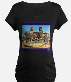 St. Augustine, Florida Maternity T-Shirt