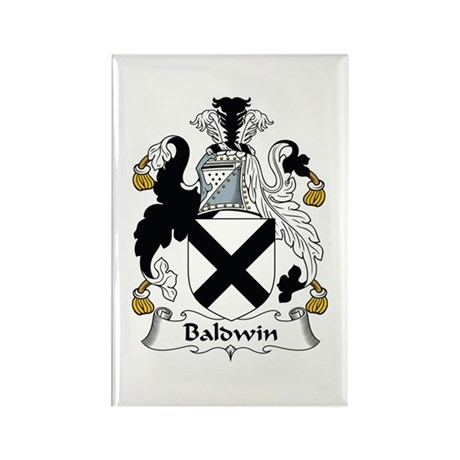 Baldwin Rectangle Magnet (10 pack)