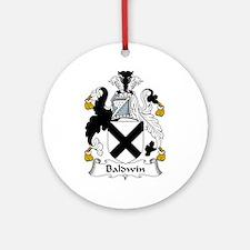 Baldwin Ornament (Round)