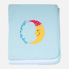 Always Kiss Me Goodnight! baby blanket