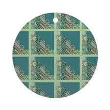 SEAFOAM & TEAL Ornament (Round)