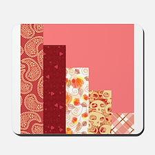 RED & SALMON Mousepad