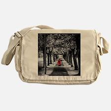 Red Coat Messenger Bag