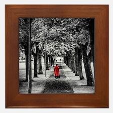 Red Coat Framed Tile