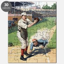 Vintage Baseball Puzzle