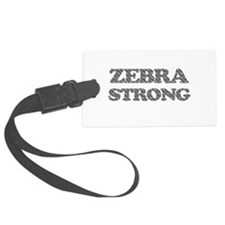 Zebra Strong Luggage Tag